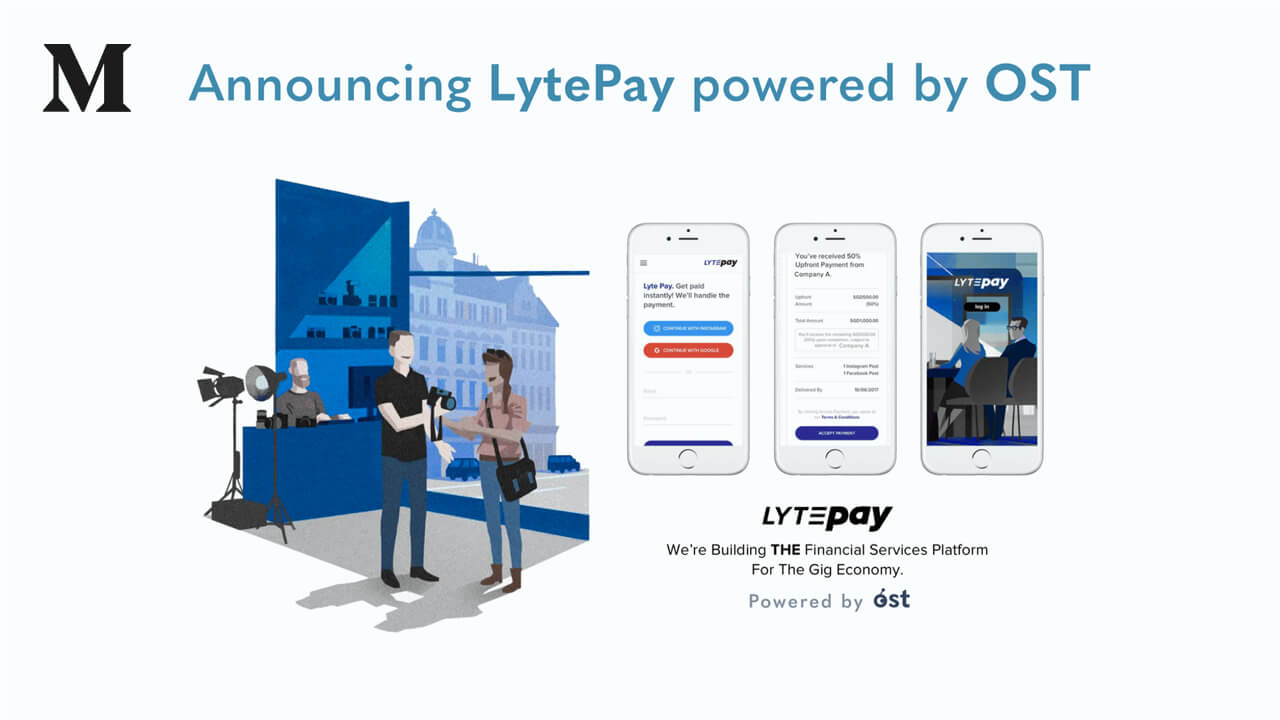Announcing LytePay — The Decentralized Finance Platform for the Gig Economy, powered by $OST