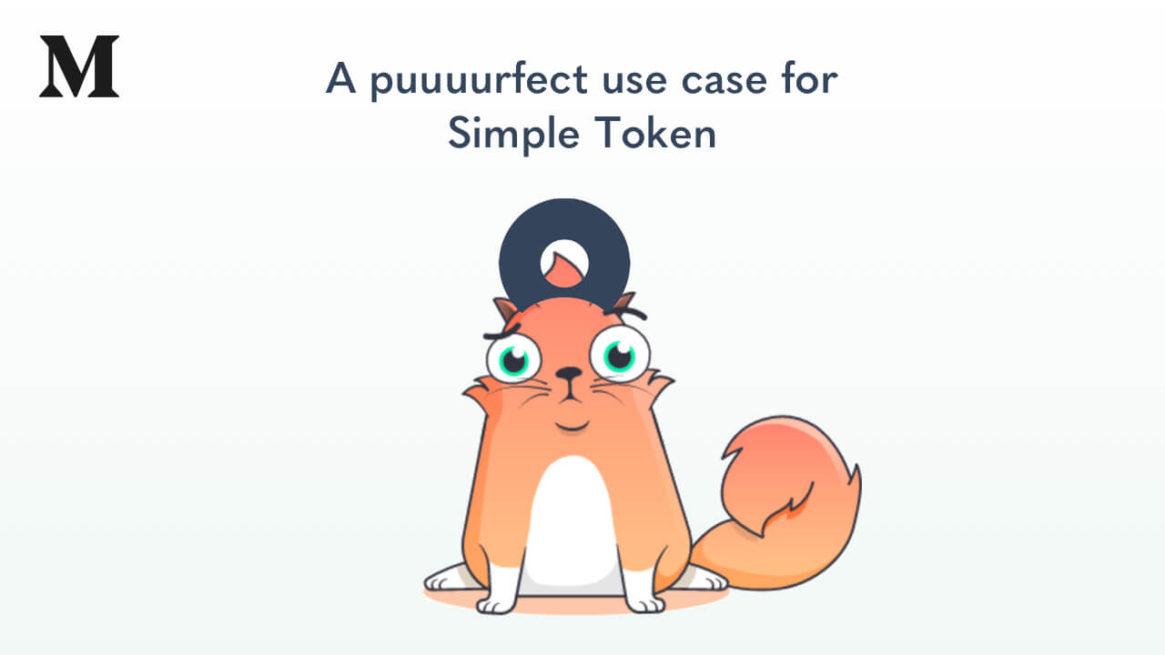 CryptoKitties: A puuuurfect use case for Simple Token