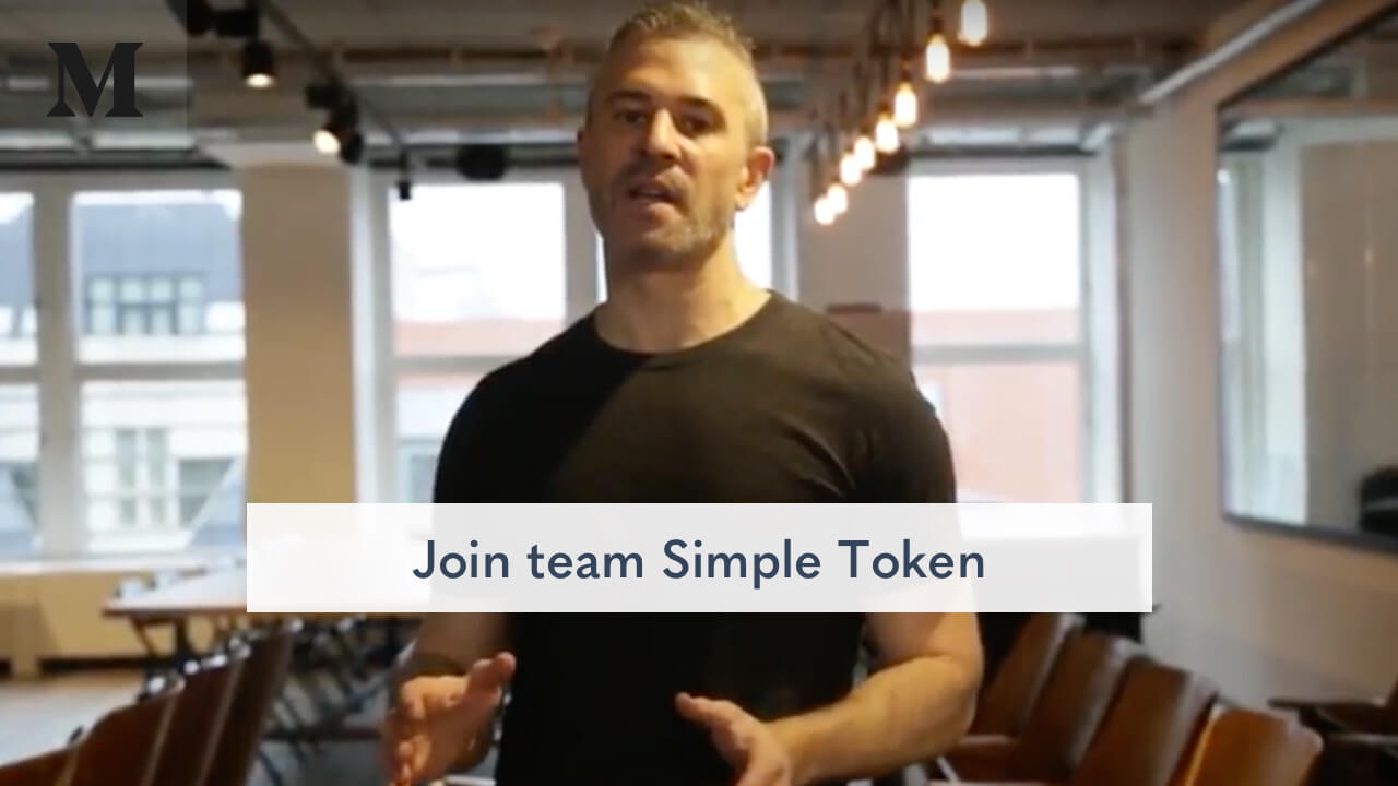 Join team Simple Token and help bring Blockchain to the mainstream