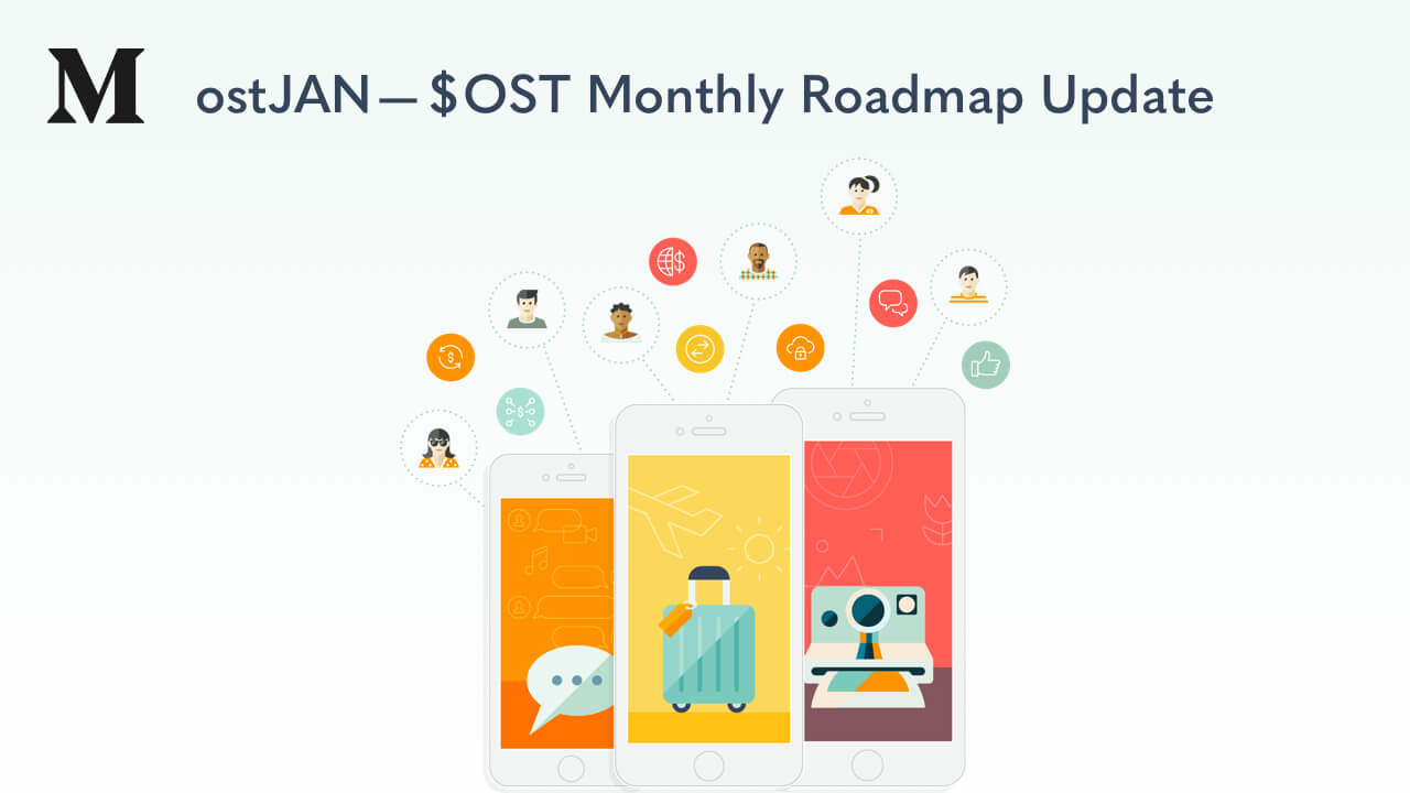 ostJAN — $OST Monthly Roadmap Update